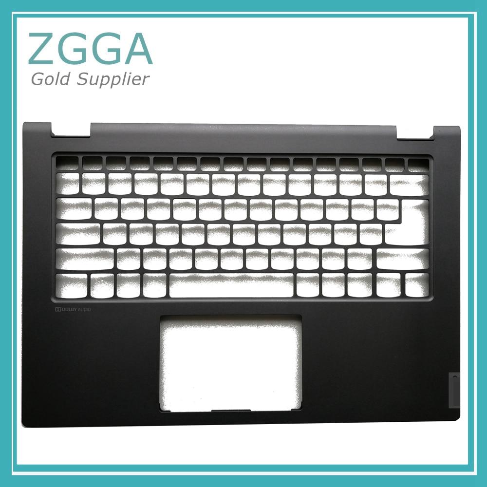 Laptop EU Keyboard Bezel For Lenovo IdeaPad C340-14 14IWL 14API Palmrest Cover Upper Case W/O FPR Hole Black Blue Silver