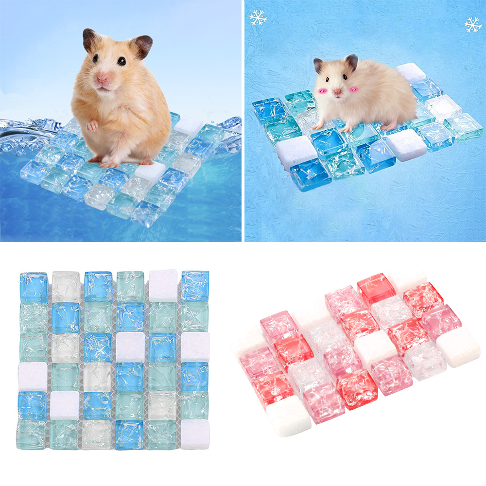 Hamster Cooling Mat Summer Crystal Bed Cooling Pad For Small Animals Small Pet Cooling Mat Pets