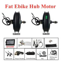 Fat-Ebike-Motor 1500W Bicycle-Controller Convertsion-Kit Electric 48V Lever Throttle-Brake