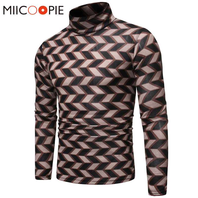 Pull Homme 2019 Casual Slim Fit Turtleneck Long Sleeves Sweater Men Autumn Winter Male Warm Soft Pullover Sweaters Clothes S-XXL