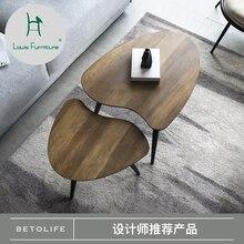 Луи моды столы для кафе чистая красная креативная мебель скандинавские маленькие простые гостиной диван несколько углов