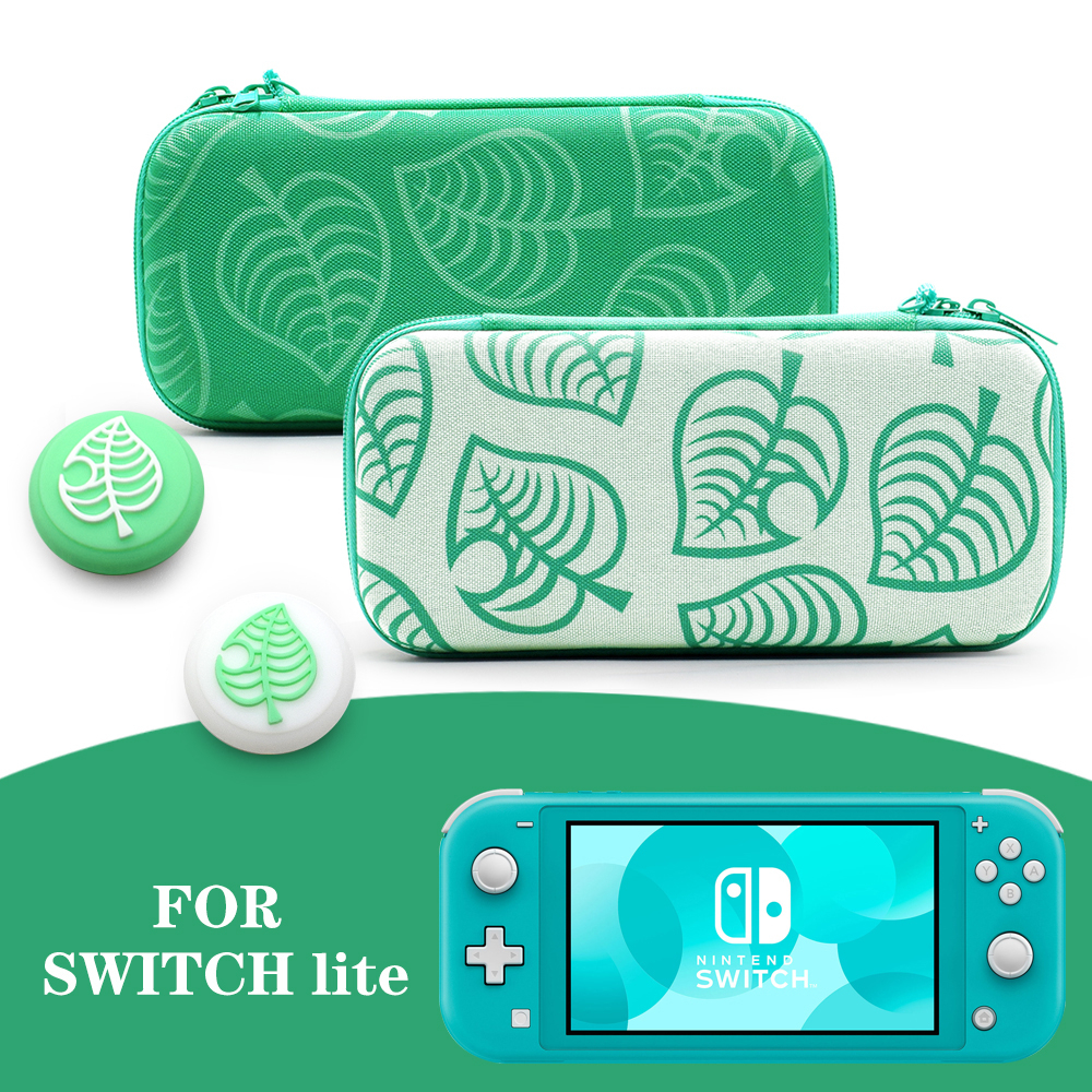 Nintend Switch Lite Animal Crossing Storage Bags Leaf Covers Protective For Nintendo Switch Carrying Hard Shell