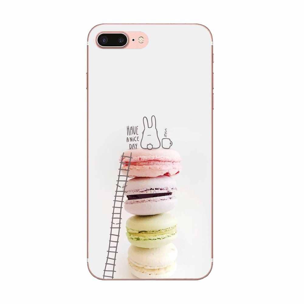 Dood Donut เค้กไอศครีมสำหรับ LG G3 G4 G5 G6 G7 K4 K7 K8 K10 K40 K50 Q6 Q60 V10 v20 V30 V40 Nexus 5 5X 2017 Soft TPU ผิว Paintin