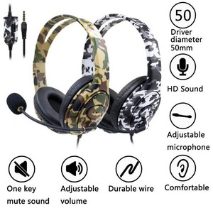 For PS4 Wired Gaming Headset H