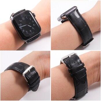 Кожаный ремешок для Apple Watch 38-44 мм 5