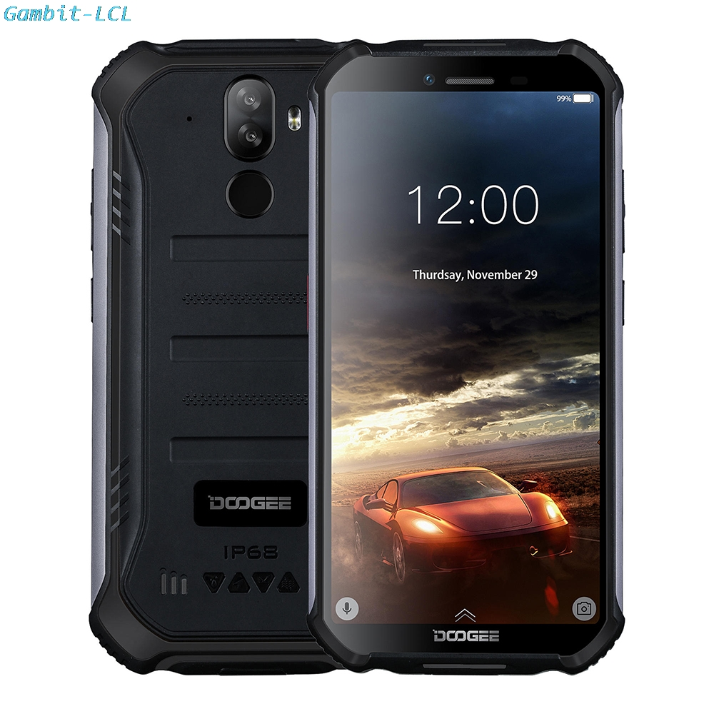 "2.5D 9H Original Tempered Glass For Doogee S40 5.5"" Screen Protector protective Glass film Case cover(China)"