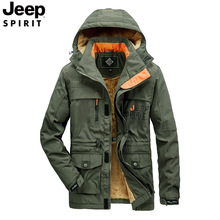 jeep 2020 autumn new windbreaker male youth casual spring and autumn jacket cotton  clothing large size tooling jacket clothes