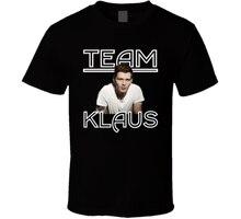 New Team Klaus Joseph Morgan Originals Vampire Diaries Mens T-Shirt size S-3XL Tops Men Tee Shirts top tee
