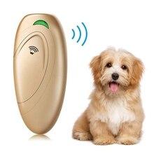 Анти лай для собак портативный домашний питомец собака ультразвуковой тренажер для домашних животных ультразвуковое устройство остановки тренажер для домашних животных контроль коры ручное устройство против лай