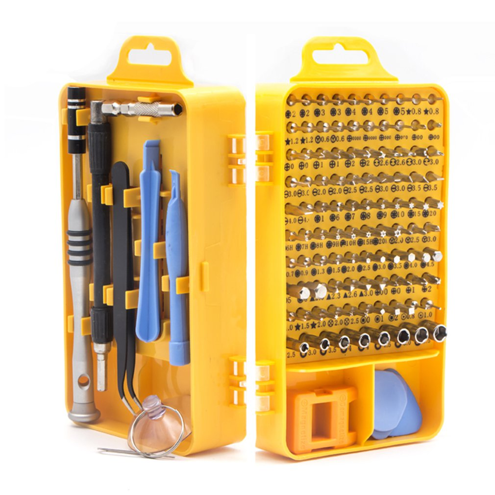 108 In 1 Screwdriver Set Chrome Vanadium Steel High Precision Magnetic Screwdriver Sets Electronic Device Home Repair Tools