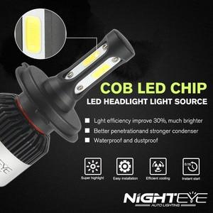 Image 5 - NIGHTEYE Super Bright Car Headlights H7 LED H4 led H8/H9/H11 HB3/9005 HB4/9006 Auto Bulb 72W 9000LM Automobiles Headlamp 6500K