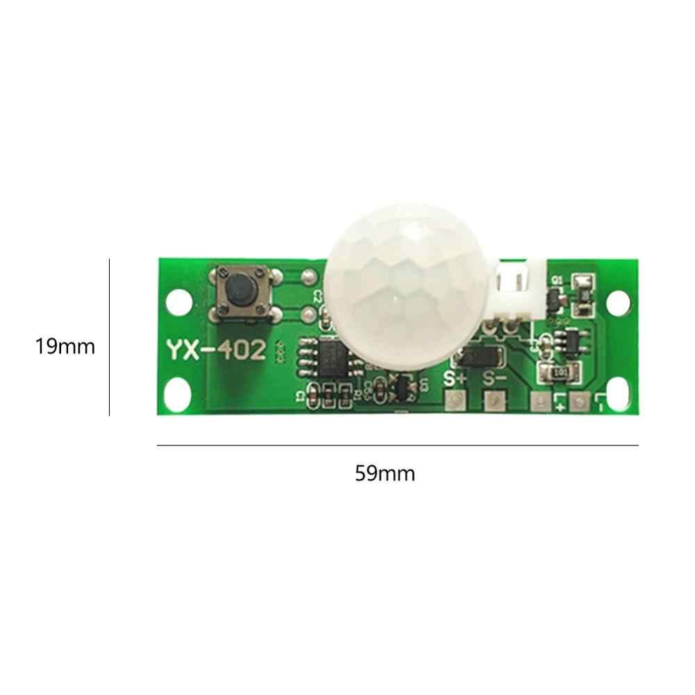 3.7V zestawy diy lampa słoneczna pokładzie sterowania czujnik noc kontroler światła moduł podczerwieni indukcyjny tryb pracy ludzkiego ciała