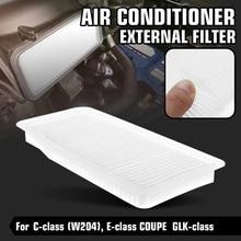 Air Conditioner External Cabin Filter for Mercedes Benz W204 C E-Class COUPE GLK-Class GLK260 GLK300 GLK350 FT999