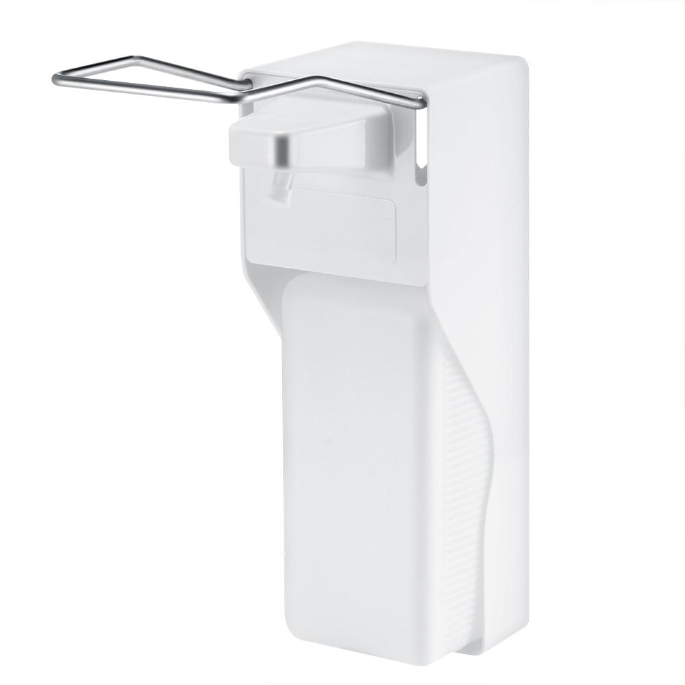 Image 5 - Distributeur manuel de savon en ABS  Pompe à savon à pression sur le coude, distributeur désinfectant mural pour la maison, hôpital, salle de bain, hôtel, 1000mlDistributeurs de savon liquide   -