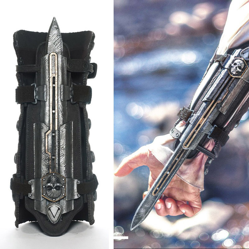Model Toys Cosplay Neca Assassins Creed 4 Assassins Creed Hidden Blade Brinquedos Edward Kenway Juguete Aliexpress