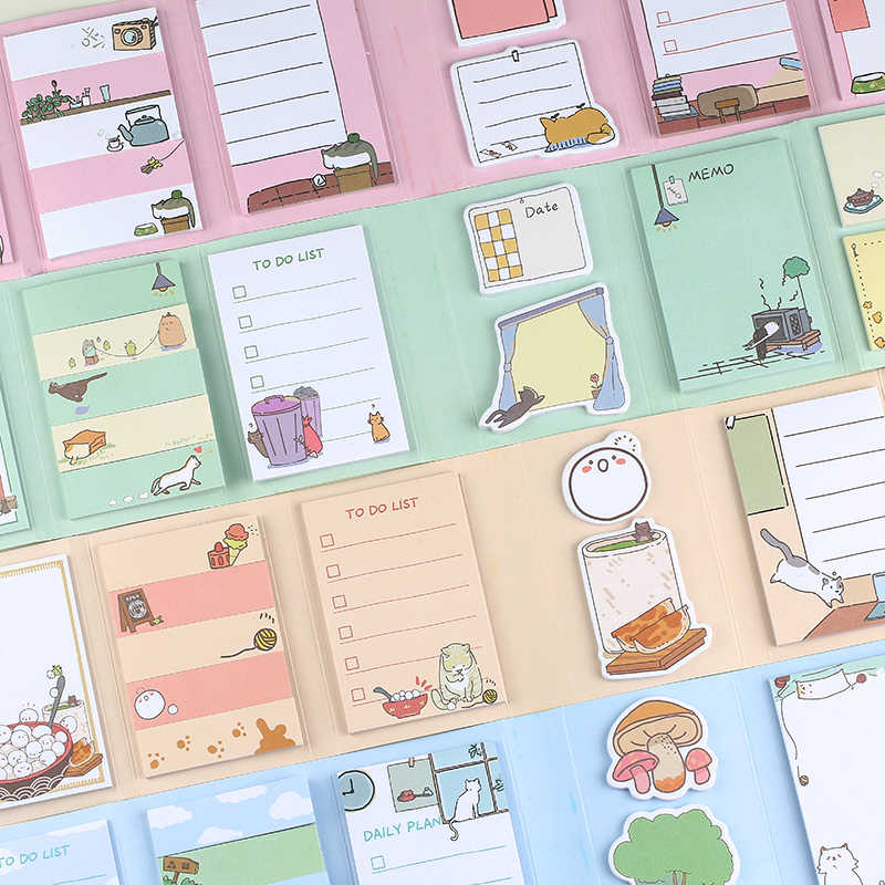 Scrapbooking, Kawaii Cute Pineapple Themed Notepad Checklist To do School Pack for DIY 30 Sheets