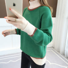 New high-collar sweater for women in autumn and winter(China)