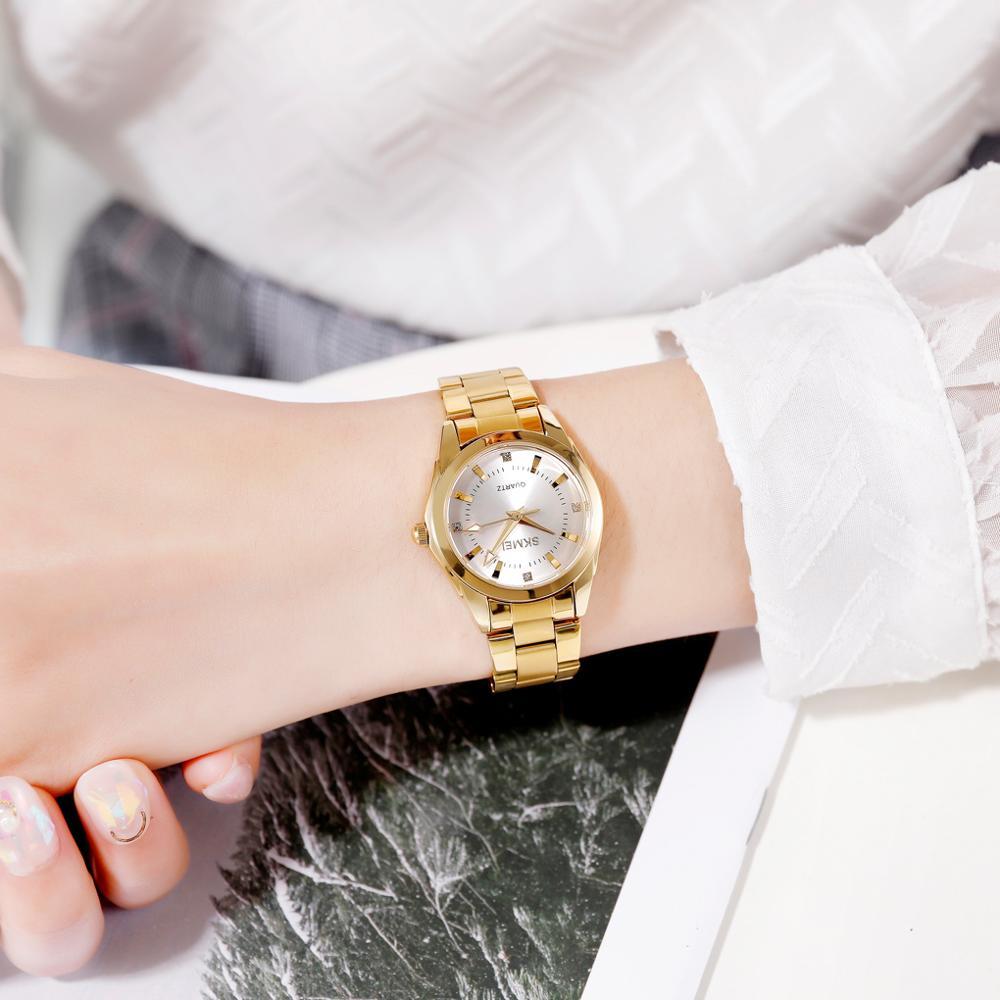 2020 SKMEI Casual Women Romantic Quartz Watches Luxury Female Girl Clock Waterproof Ladies Wristwatches Relogio Feminino 1620 3