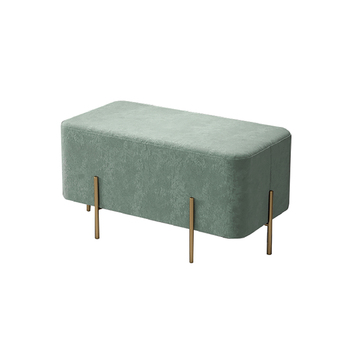 Nordic shoe stool home bedroom bed end  door creative long   fitting room small sofa