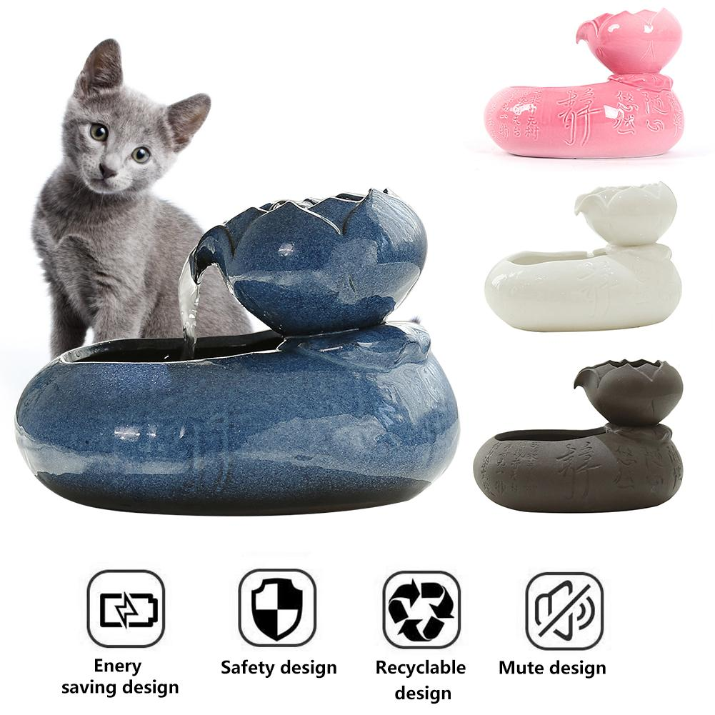 Smart Pet Water Dispenser Cat Drinking Fountain Automatic Circulation Water Feeder Three-dimensional Live Water Basin Cat Water