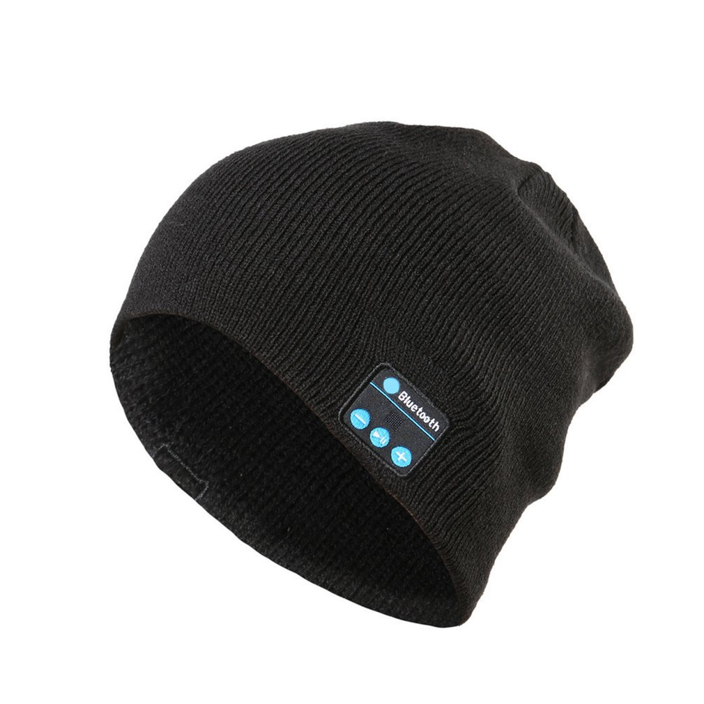 Wireless Bluetooth Headphones Music Hat Universal Smart Caps Winter Warm Beanies Knitted Hat With Speaker Mic For Outdoor Sports