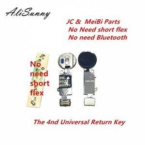 Image 1 - AliSunny 5 قطعة 4nd العالمي الرئيسية زر فليكس كابل آيفون 7 8 Plus القائمة لوحة المفاتيح العودة على قبالة فوكتيون الحل