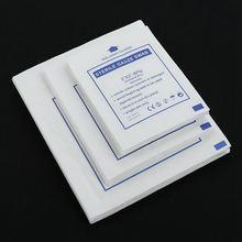 Novo 10 pçs/lote gaze almofada 100% algodão primeiros socorros à prova dwaterproof água ferida vestir estéril gaze almofada de cuidados com feridas suprimentos 3 tamanhos