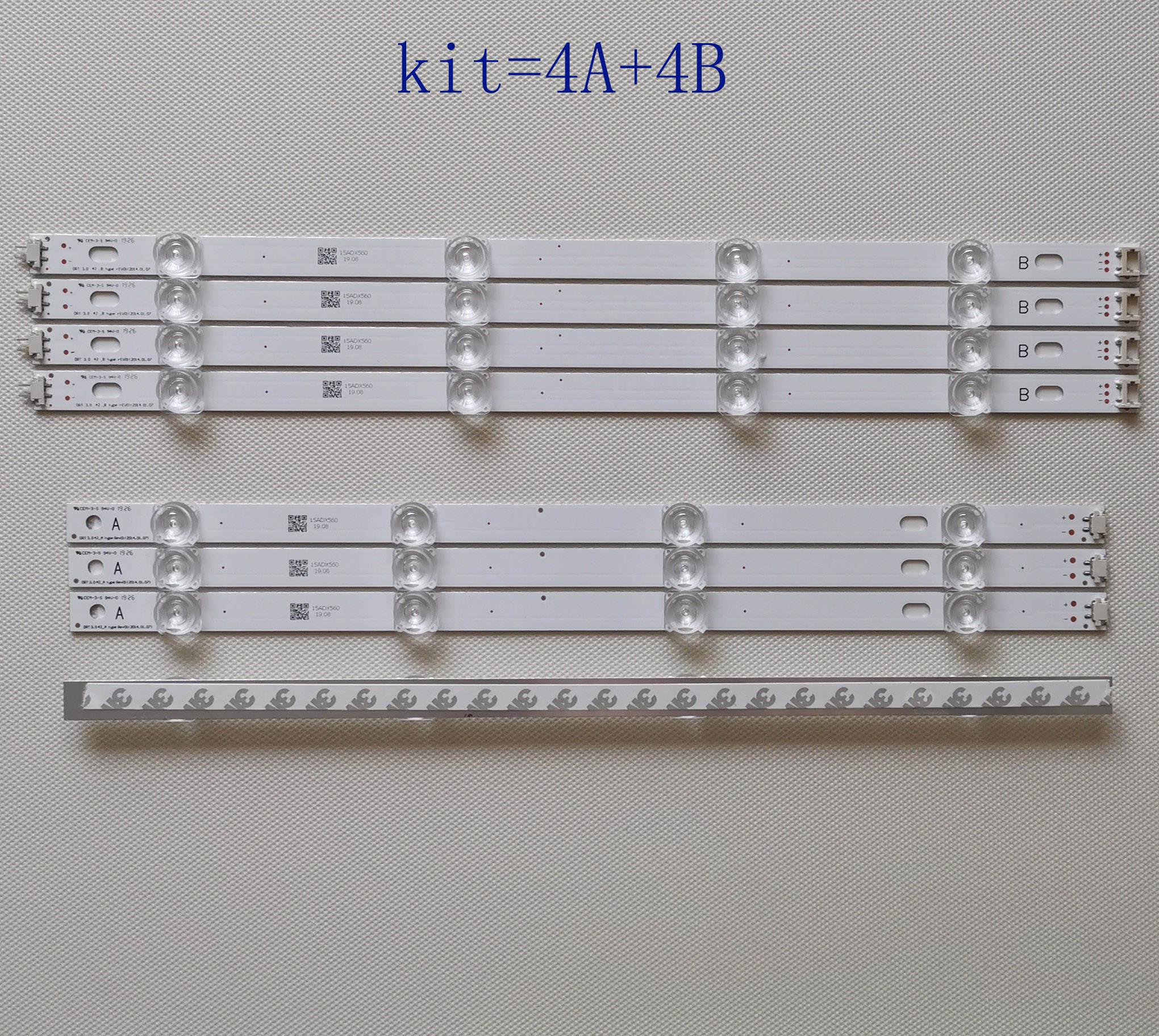 Led-Strip 42LB5600 for LG Innotek Drt-3.0 42-A 42ly320c/42lb/42lb5600/.. 8pcs-Kit New