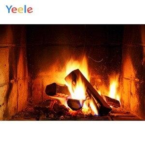 Image 5 - Yeele камин гостиная огненные обои жизненные фотографии фоны персонализированные фотографические фоны для фотостудии
