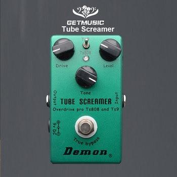 Démon TS808 Tube hurleur Overdrive Pro Vintage guitare électrique effet pédale