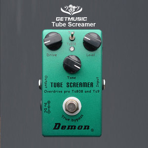 Image 1 - Demônio ts808 tubo screamer overdrive pro pedal efeito guitarra elétrica do vintage