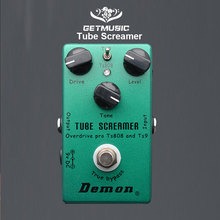 Demon TS808 Tube Screamer Overdrive Pro Vintage Electric Guitar Effect Pedal