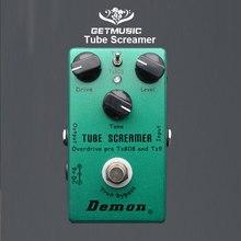 악마 TS808 튜브 스크리머 오버 드라이브 프로 빈티지 일렉트릭 기타 이펙트 페달