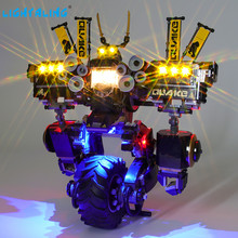 Lightaling Led Light Kit For Quake Mech Building Blocks Compatible With 70632 ( Lighting Set Only ) lightaling led light set for famous brand 10182 15002 make