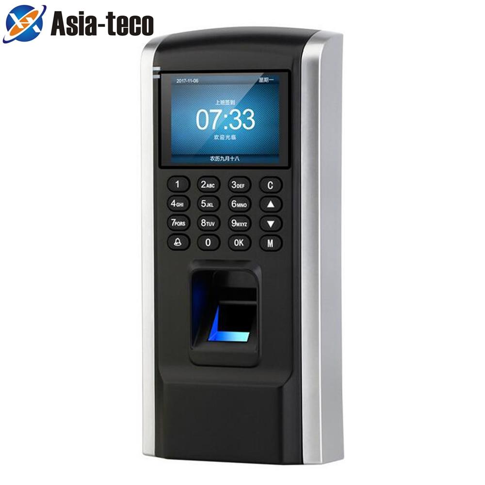 Fingerprint Access Control Employee Time Attendance RFID Biometric Access TCP/IP USB Port