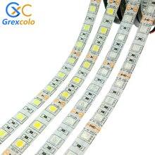 LED Strip 5050 DC12V 60LEDs/m Flexible RGB LED Tape RGBW RGBWW Diode Ribbon Waterproof 5050 LED Light Strip 300LEDs 5m/lot