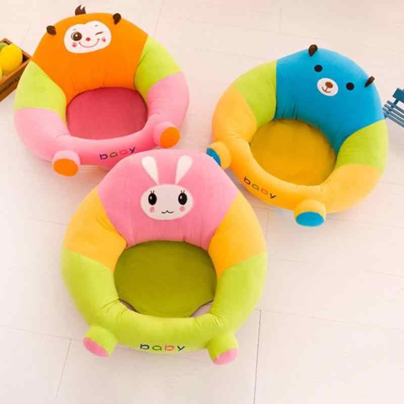 Cute Baby Sofa Support Seat Cover Learning To Sit Chair Washable Cover