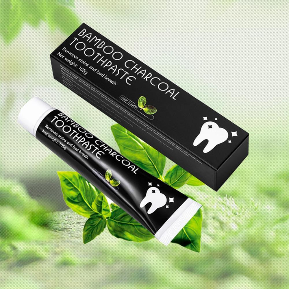 Tooth Care Bamboo Natural Activated Charcoal Teeth Whitening Toothpaste Oral Hygiene Dental FDA CE Certification