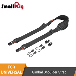 SmallRig Universal Gimbal Shoulder Strap With 1/4 Screw Mini Plates For Quick Release On Gimbal Stablizer Shoulder Strap-2466