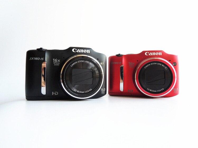Grande-ângulo de Imagem Digital com 16x Preço Especial Usado Canon Powershot Sx160 é 16.0 mp Câmera Óptica Estabilizado Zoom