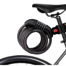 Bike Password lock Anti-Theft MTB Combination Lock Bike Cable code Lock Security safety Coded Steel Wiring Bicycle Safety Lock giyo bicycle lock multi function mini cable 3 digit password bike lock cycling helmet lock anti theft code padlock lock