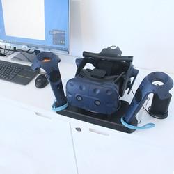 Ładowarka do pada podwójne ładowanie stojak magnetyczny 2 w 1 do HTC VIVE dq drop w Ładowarki od Elektronika użytkowa na