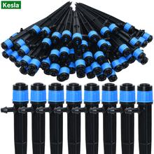 30-500PCS Adjustable 1 4 Irrigation Misting Dripper 360degree Sprinkler Drip Watering Tool 4 7mm Hose Garden Yard Greenhouse cheap KESLA CN(Origin) KSL01-KIT020 Plastic Watering Kits
