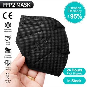 FFP2 mask kn95 face mask CE Mascarillas kn95mask Protective Dustproof masks 5 Layers Filter maske ffp2mask ffp3 Mouth Masks 300pcs mascarilla ffp2 kn95 mouth mask 5 layers anti droplets protective kn95 face masks reusable filter ffp2mask ce
