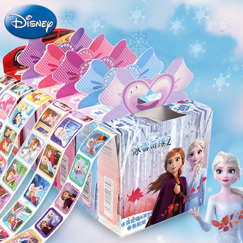 200pcs Disney Stickers Frozen 2 Elsa And Anna Princess Cartoon Sofia Little Pony Pixar Cars Kids Removable Stickers Makeup Toy image