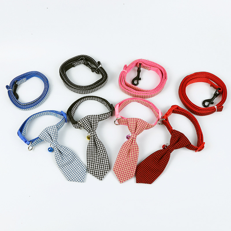 Yiwu Pet Supplies New Style Tie Neck Ring Dog Traction Set Outdoor Hand Holding Rope Meng