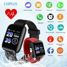 Reloj inteligente con Bluetooth 4,2, pulsera inteligente deportiva resistente al agua, control del ritmo cardíaco y de la presión sanguínea