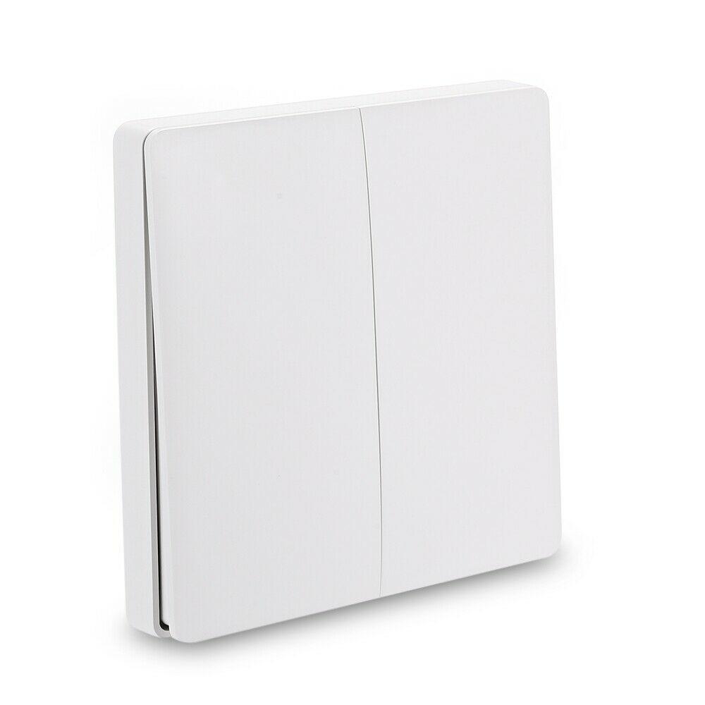 Aqara Wall Switch Wired Light Remote Control ZiGBee Wifi Wireless Key Wall Switch Smart Home Work With Mijia Home APP Durable