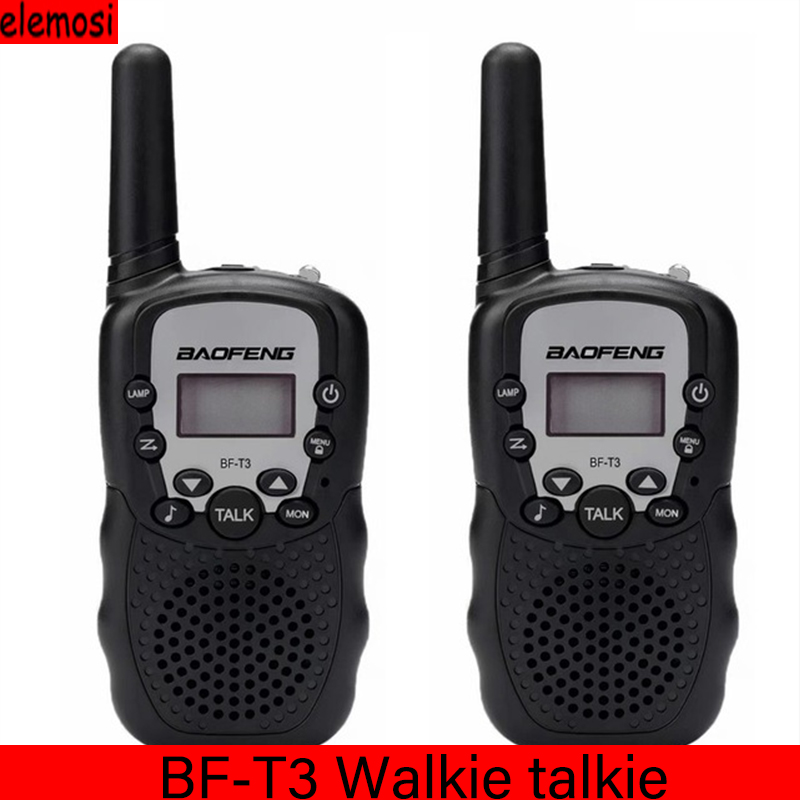 2pcs/set  Children's Walkie Talkie Kids Radio Mini Toy BF-T3 For Children Kid Gift BFT3 Portable Two-Way Transceiver Hands-free
