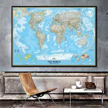 150x100 см мировая карта с плотностью популяции виниловый спрей карта без национального флага для культуры и образования